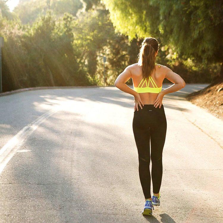 Losing Weight running