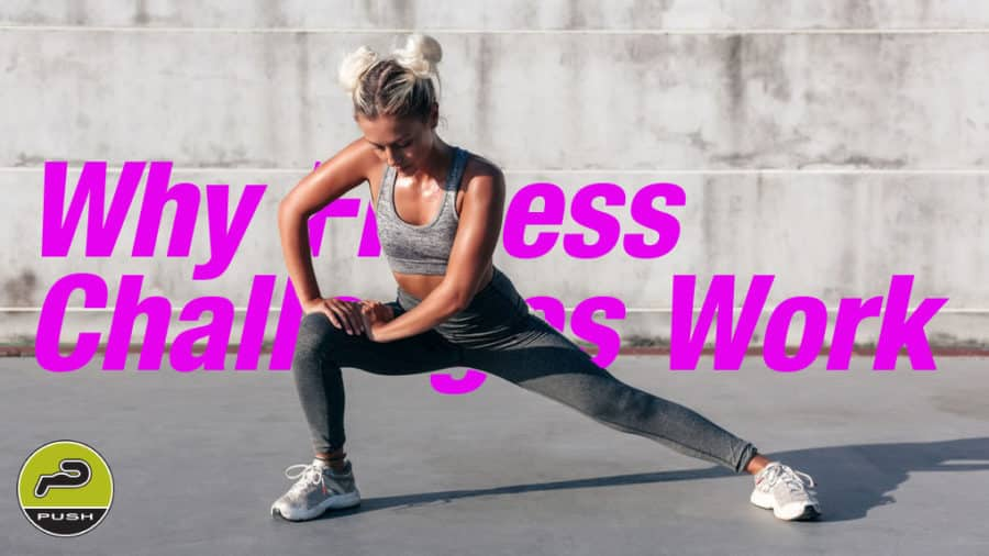 Fitness Challenges Push Gym